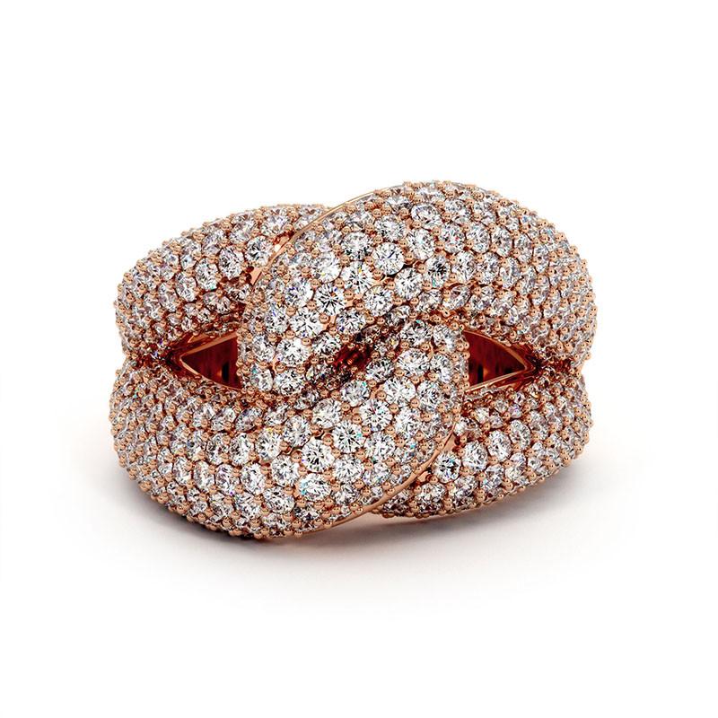 Solitaire Diamant MON AMOUR Or Blanc 1.50 Carat