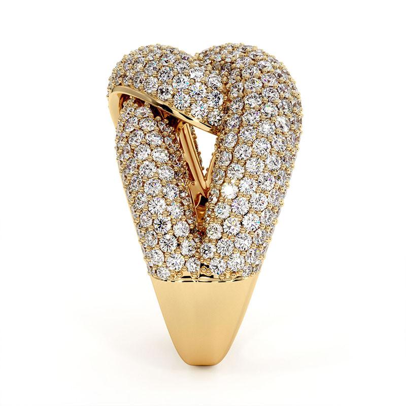 Solitaire Diamant MON AMOUR Or Blanc 1.00 Carat