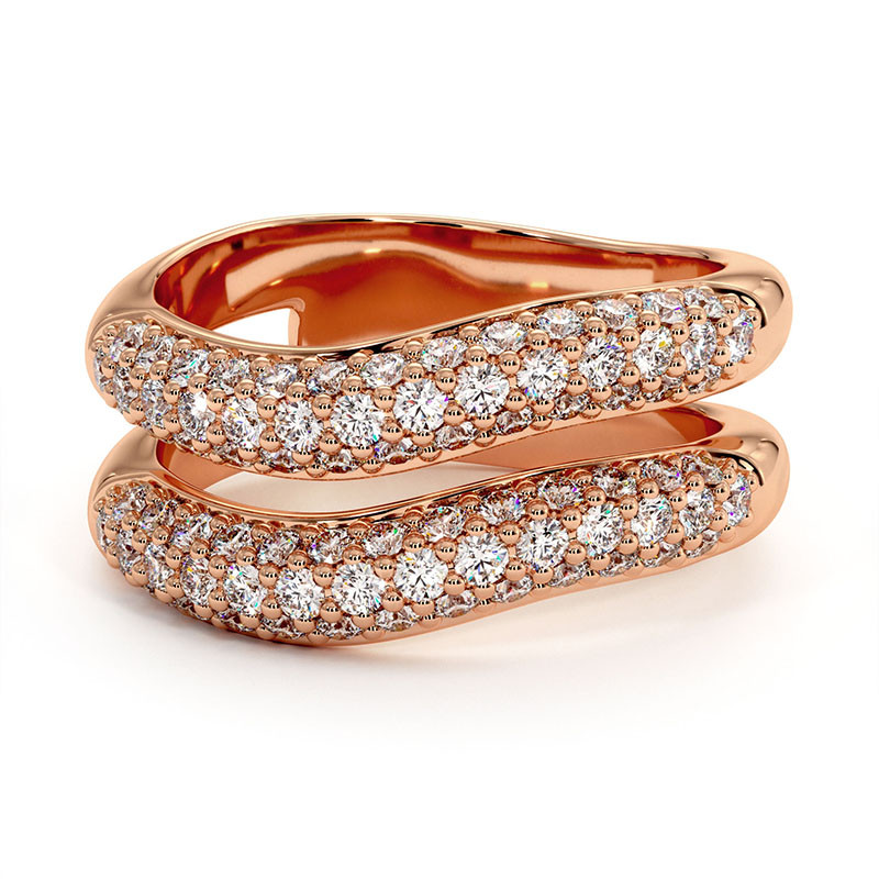Solitaire Diamant MON AMOUR Or Blanc 1.20 Carats