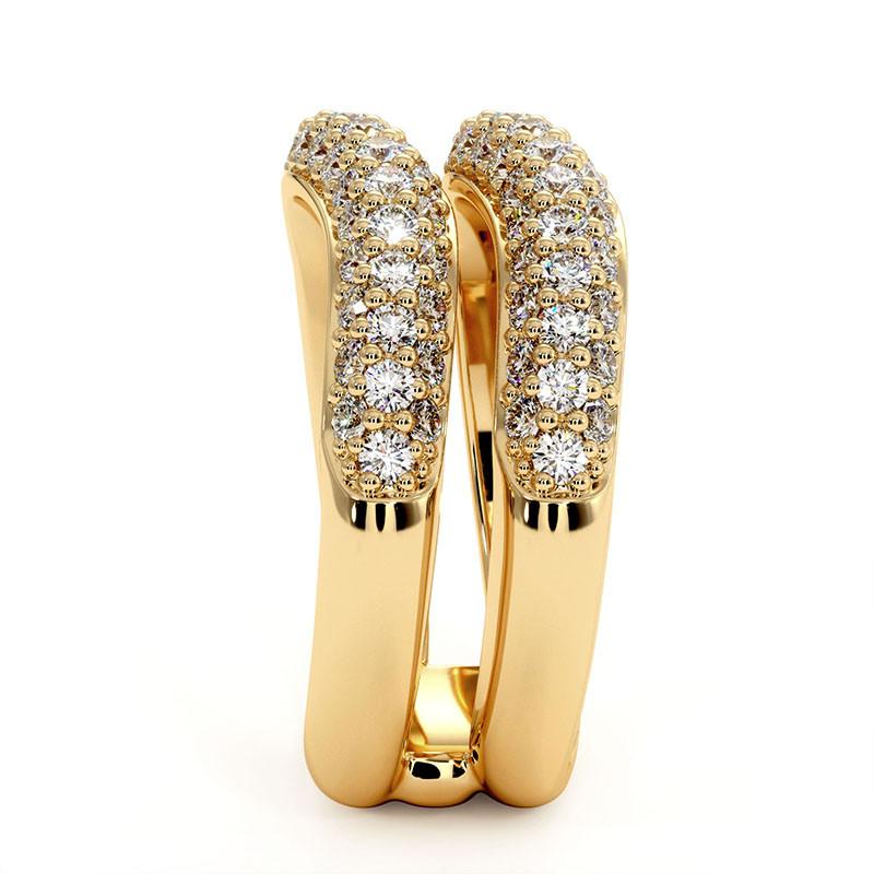 Solitaire Diamant MON AMOUR Or Jaune 0.72 Carat