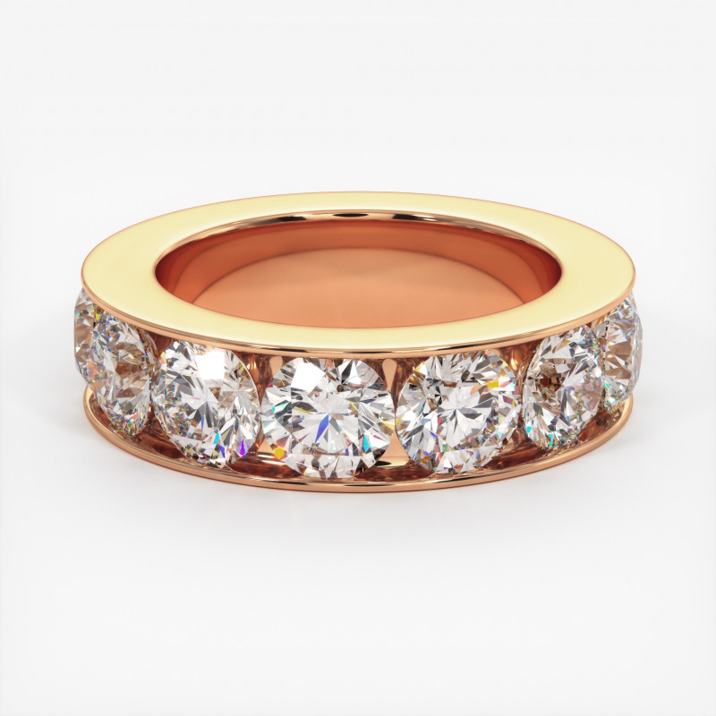 Solitaire Diamant MA PRINCESSE Or Blanc 800/1000 2.50 Carats