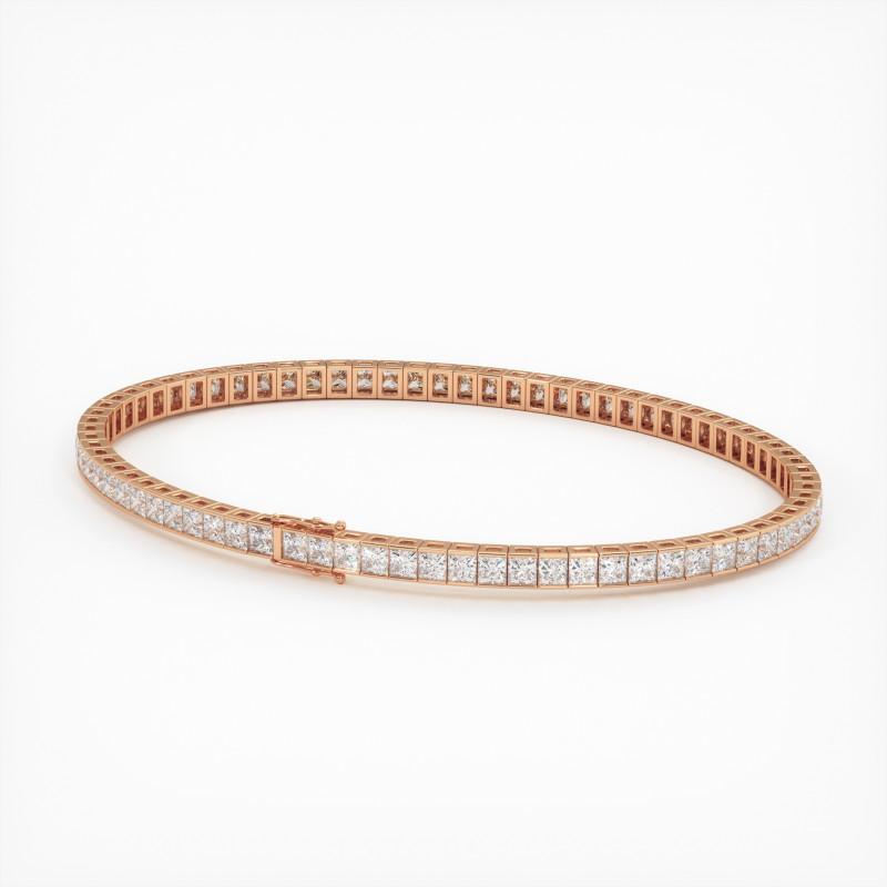 Solitaire Diamant MA PRINCESSE Or Jaune 750/1000 1.00 Carat