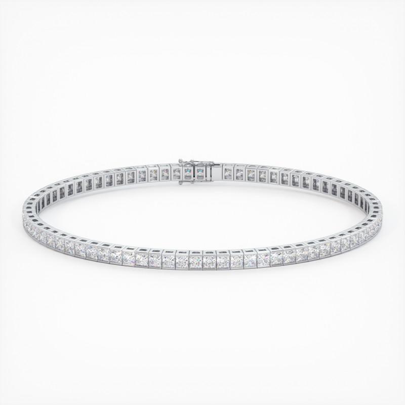Solitaire Diamant MA PRINCESSE Or Jaune 750/1000 1.70 Carats