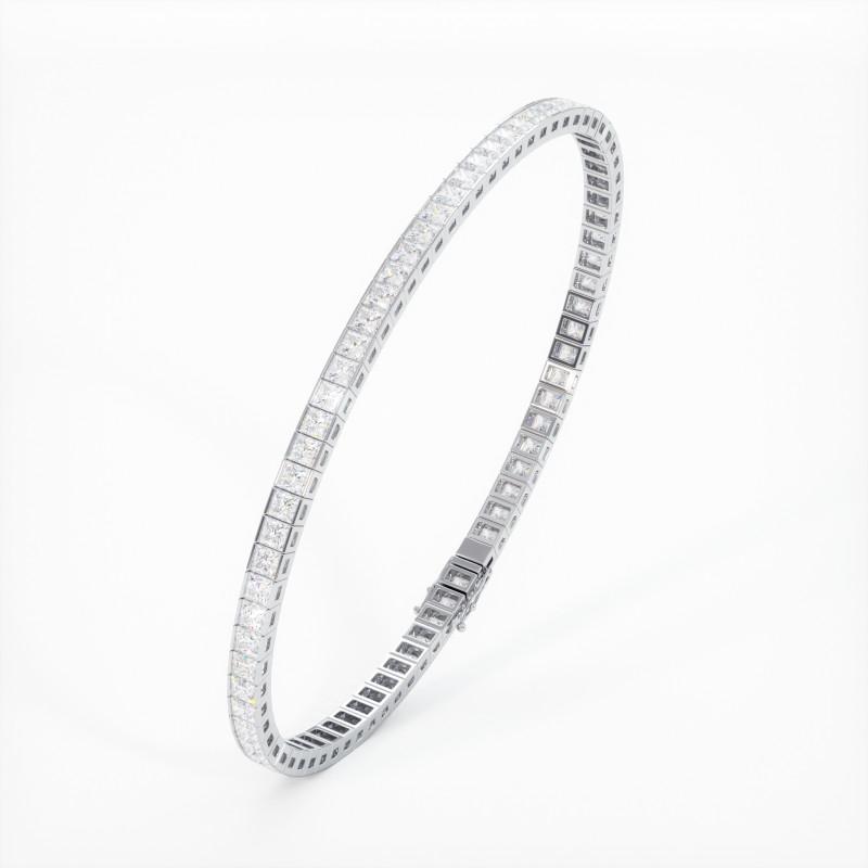 Solitaire Diamant MA PRINCESSE Or Jaune 750/1000 2.50 Carats