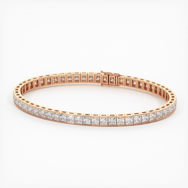 Solitaire Diamant MA PRINCESSE Or Jaune 750/1000 3.30 Carats
