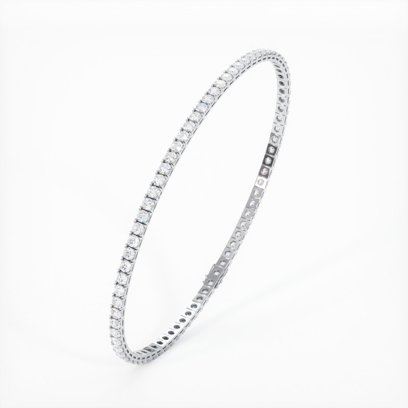 Solitaire Diamant MA TENDRE Or Blanc 800/1000 1.10 Carats