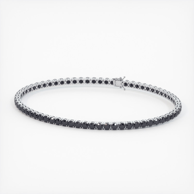 Solitaire Diamant taille Rond MA VIE Or Blanc 800/1000 2.80 Carats