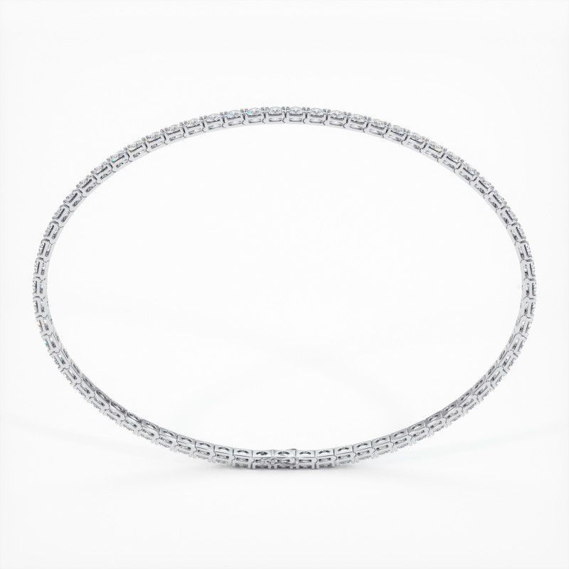 Solitaire Diamant taille Rond MA VIE Or Jaune 750/1000 2.30 Carats