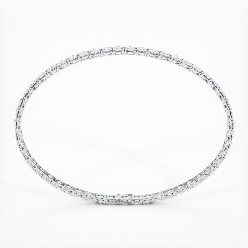 Solitaire Diamant taille Coussin MA VIE Or Blanc 800/1000 1.10 Carats