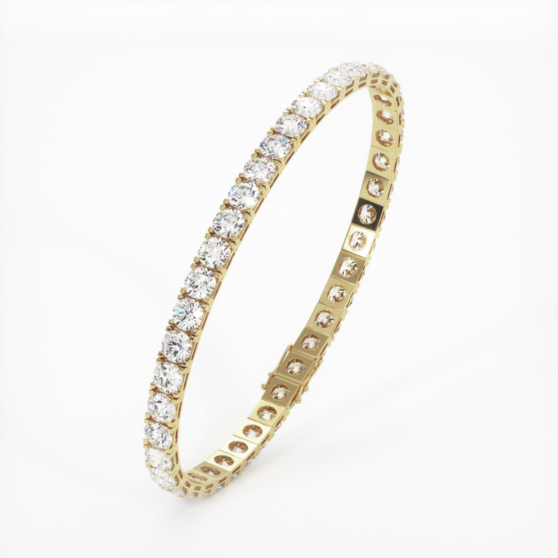 Solitaire Diamant taille Coussin MA VIE Or Jaune 750/1000 1.10 Carats