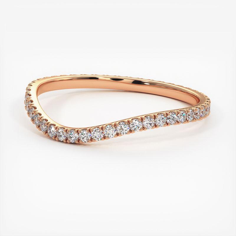 Pendentif Diamant Laura Platine 0.70 Carat