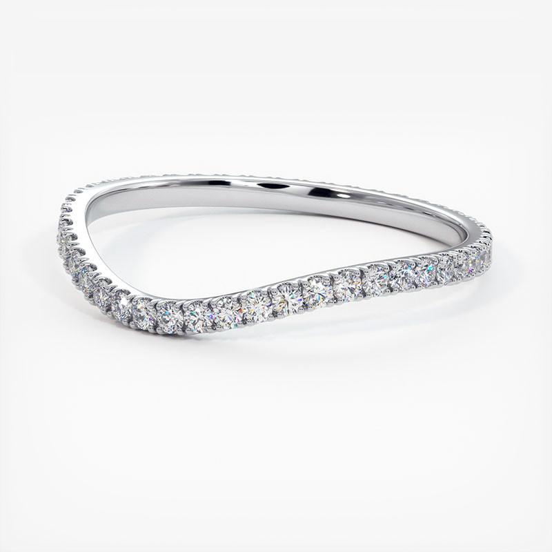 Pendentif Diamant Laura Platine 0.90 Carat