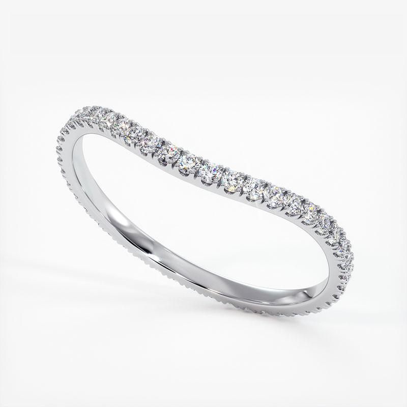 Pendentif Diamant Laura Or Rose 1.00 Carat