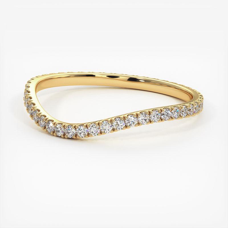 Pendentif Diamant Laura Or Rose 0.30 Carat