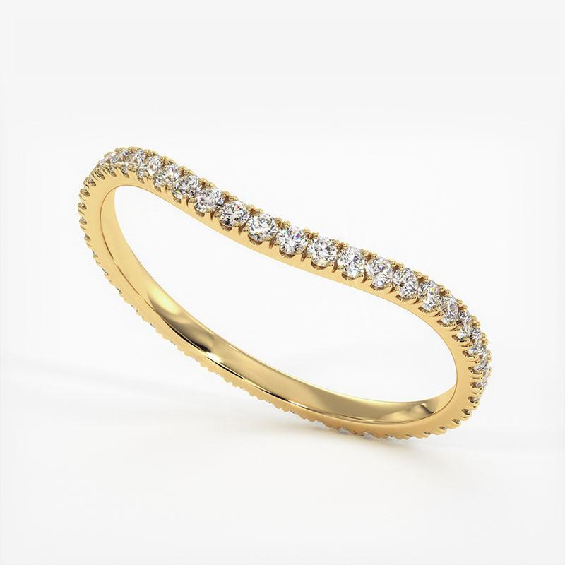 Pendentif Diamant Laura Or Rose 0.40 Carat