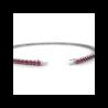 Pendentif Diamants NELIA Or Rose 800/1000 0.70 Carat