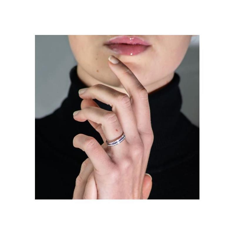Pendentif Diamants NELIA Or Blanc 800/1000 0.45 Carat