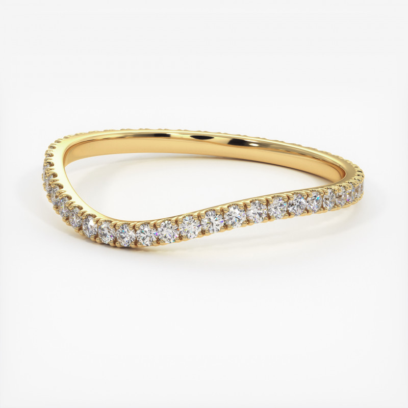 Pendentif Diamants NELIA Or Jaune 750/1000 1.40 Carats