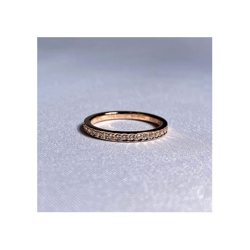 Pendentif Diamant Pakita Or Rose 1.00 Carat