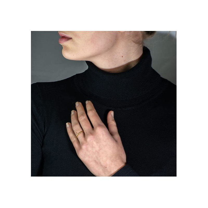 Pendentif Diamant Pakita Or Rose 0.60 Carat