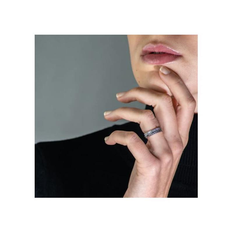 Pendentif Diamant Pakita Or Rose 0.80 Carat