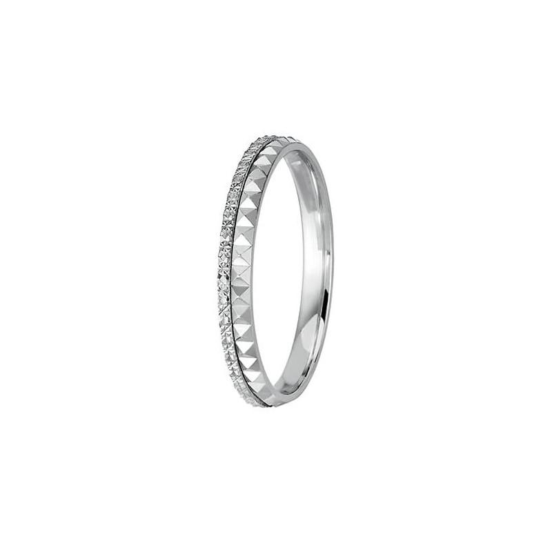 Pendentif Diamant Pema Platine 0.70 Carat