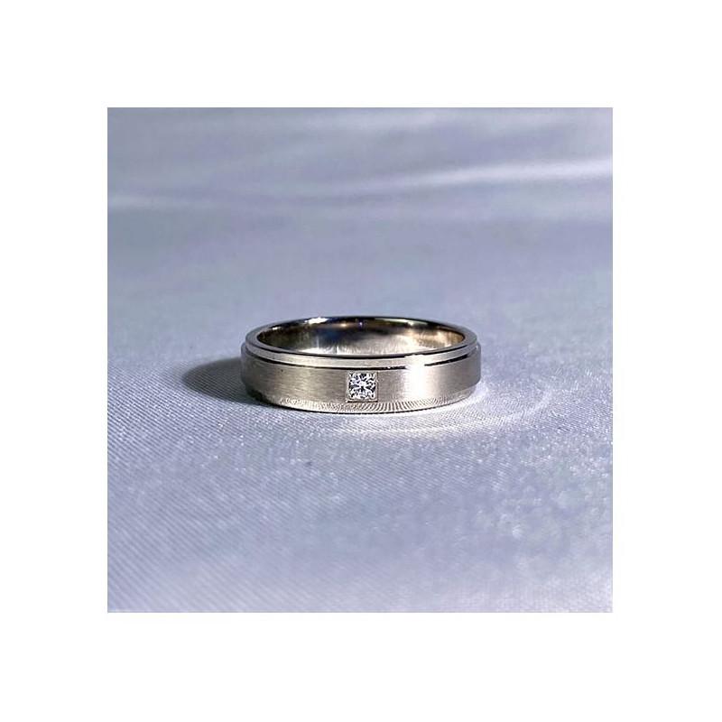 Pendentif Diamant Pema Or Rose 0.70 Carat