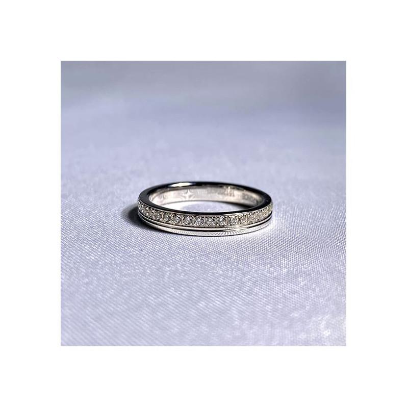 Pendentif Diamant Pure Platine 0.50 Carat
