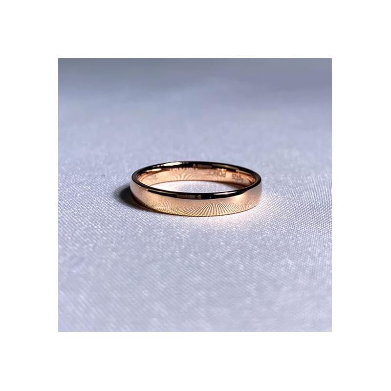 Pendentif Diamant Pure Or Rose 1.00 Carat