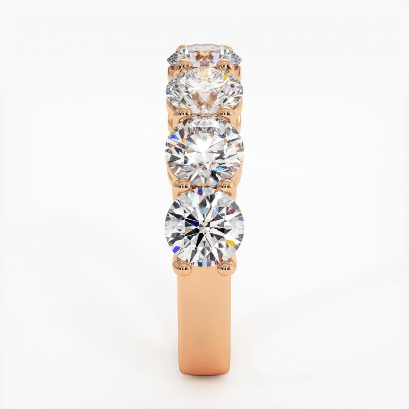 Pendentif Diamant Pure Or Rose 0.30 Carat