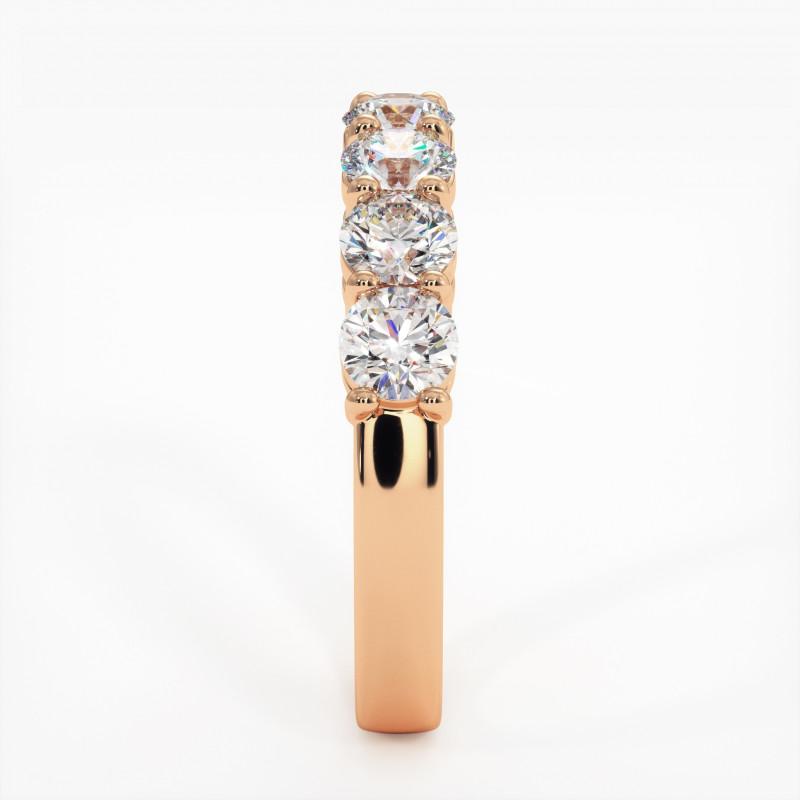 Pendentif Diamant Pure Or Rose 0.60 Carat