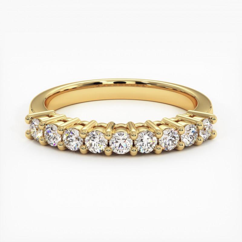 Pendentif Diamant Pure Or Blanc 1.00 Carat