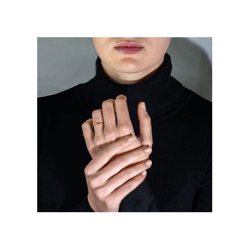 Pendentif Diamant Pure Or Blanc 0.30 Carat